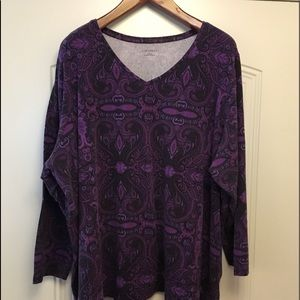 Catherine's Super Soft Long sleeve top 4X